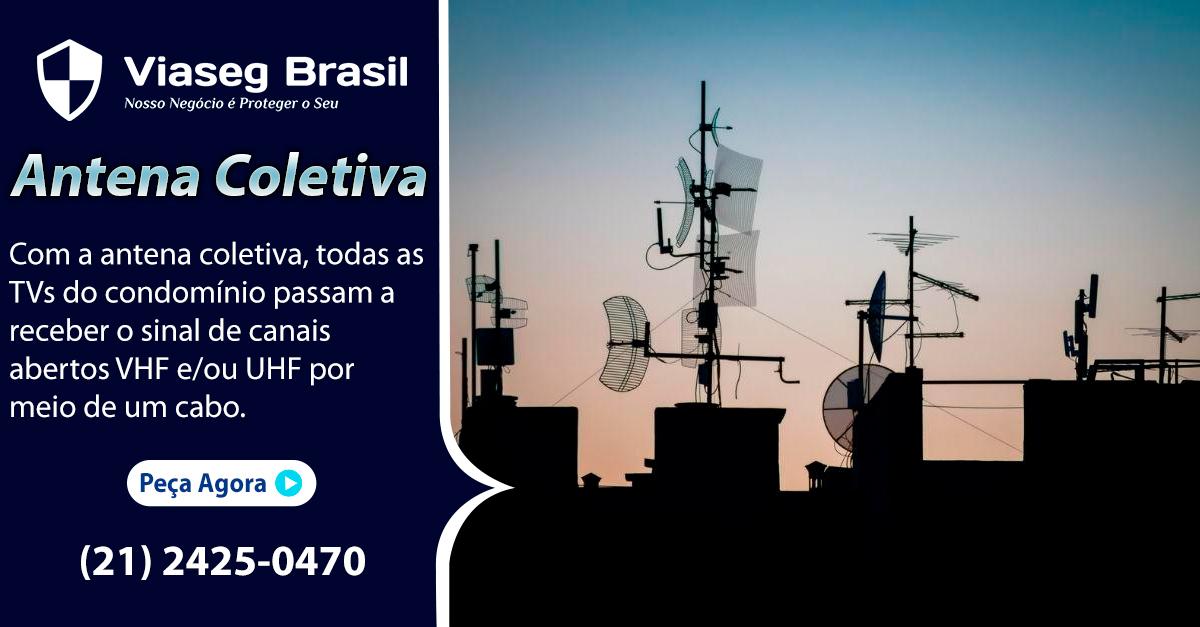 Antena Coletiva todas as tvs do condominio passam a receber o sina dos canais abertos