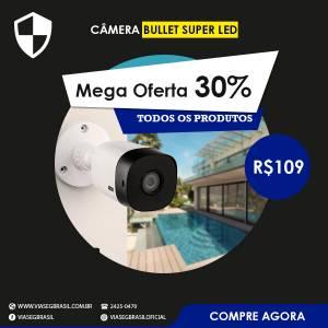 Câmera Bullet Super Led