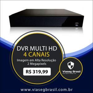 DVR Multi HD 4 Canais